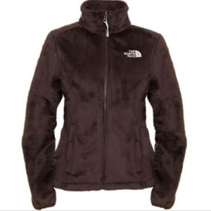 The North Face Brown Osito Full Zip Jacket